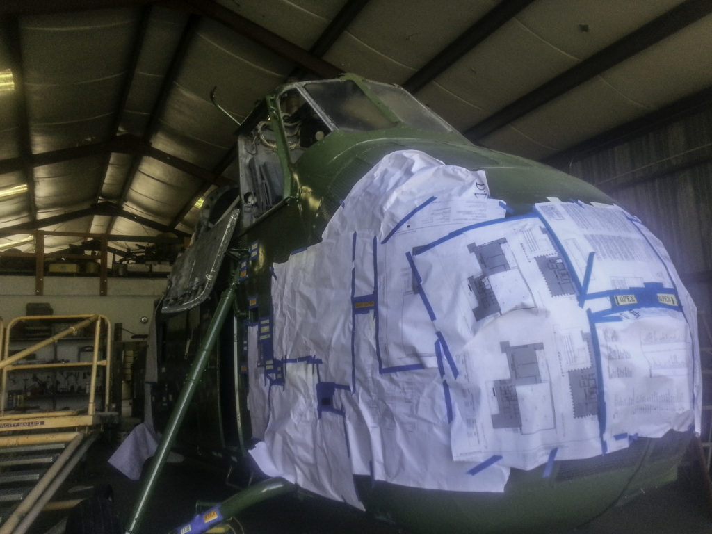 Sikorsky Helicpopter Restoration